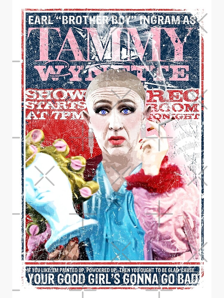 Sordid Lives Earl Brother Boy Ingram as Tammy Wynette by unclegertrude