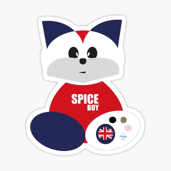 Spice Boy Sticker
