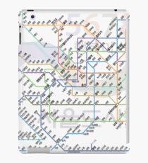 Seoul Tube map iPad Case/Skin
