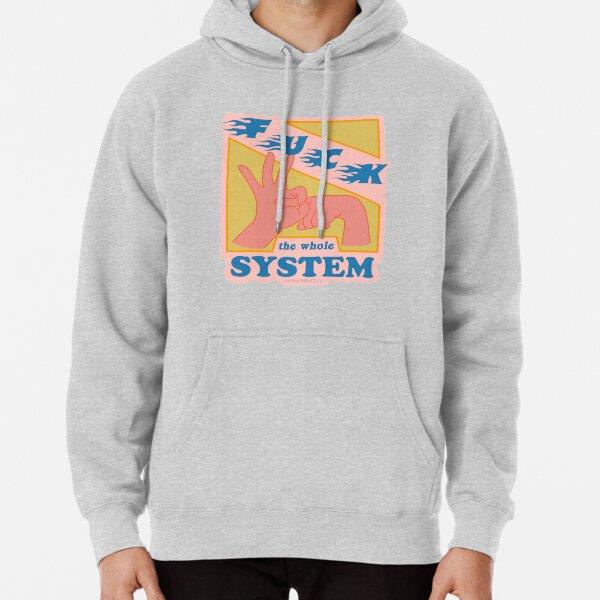 F * ck The System - The Peach Fuzz Sudadera con capucha