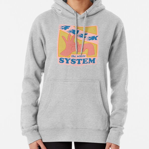 F*ck The System - The Peach Fuzz Pullover Hoodie