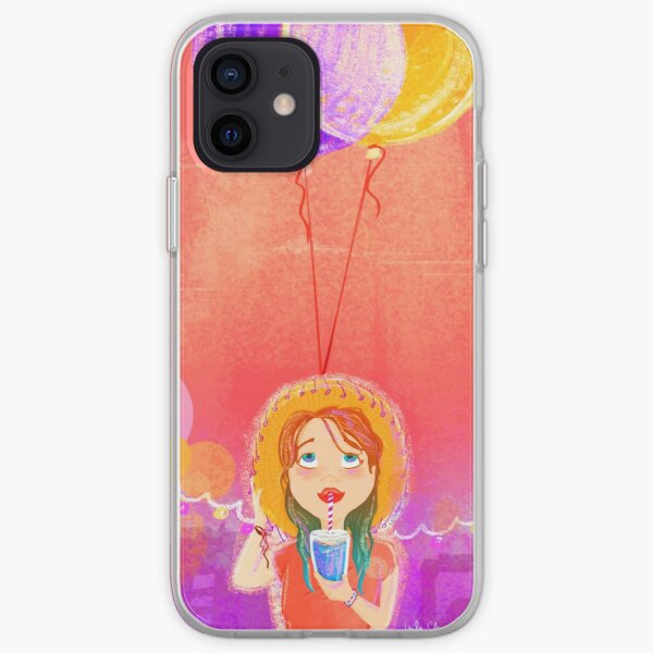 Summer Vibes by Leila Charafeddine iPhone Soft Case