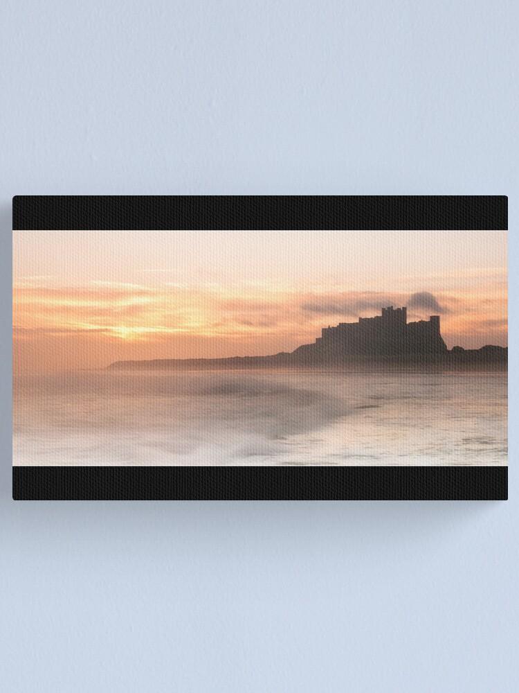 Alternate view of Bamburgh Castle Canvas Print