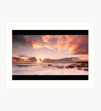 Seaton Sluice Art Print