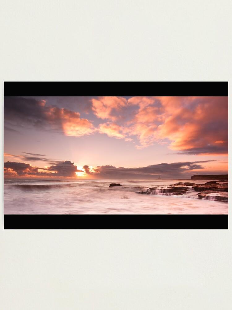 Alternate view of Seaton Sluice Photographic Print