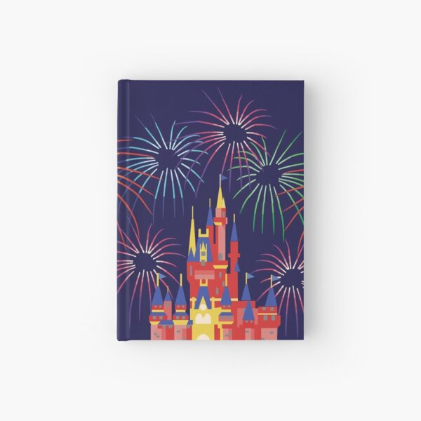 Happily Ever After Fireworks Hardcover Journal