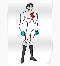 Bruce Timm Style Madman Mike Allred Poster