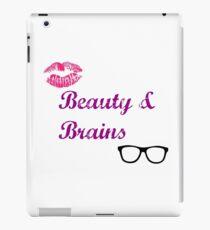 Beauty & Brains iPad Case/Skin