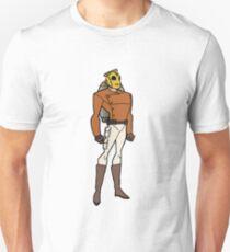Bruce Timm Style Rocketeer Unisex T-Shirt