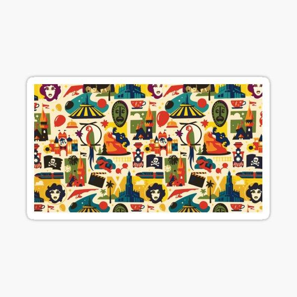 Magical Pattern Sticker