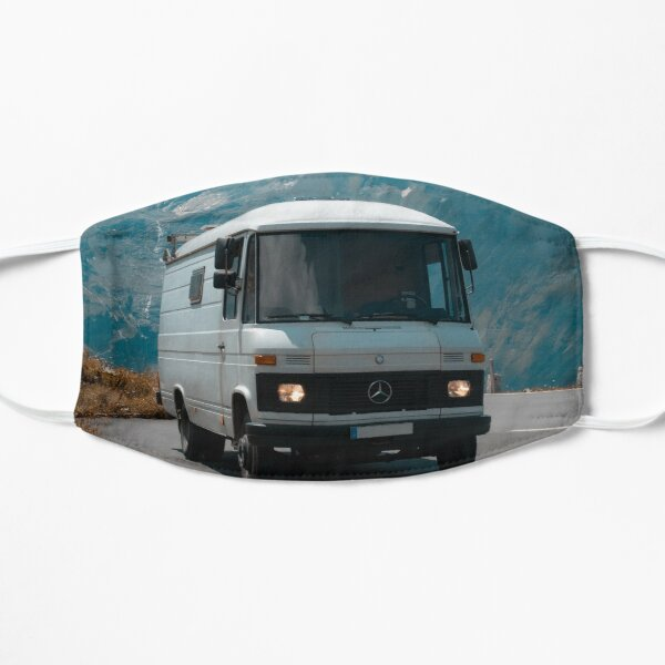 Old mercedes campervan - Summer in Austria  Mask