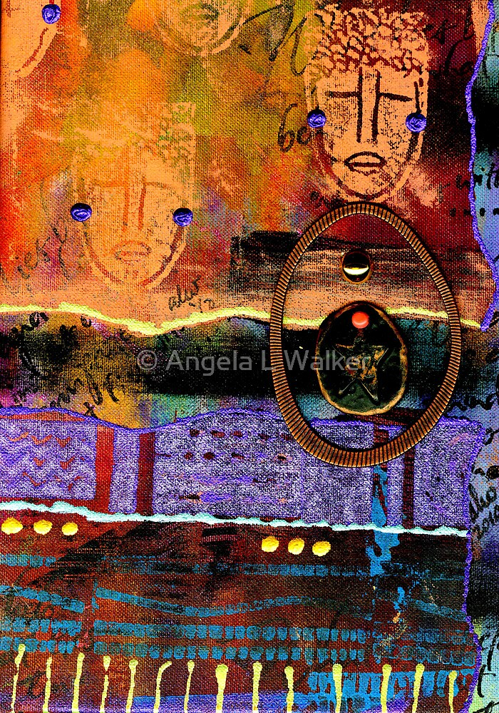 The Angels and The Star by © Angela L Walker