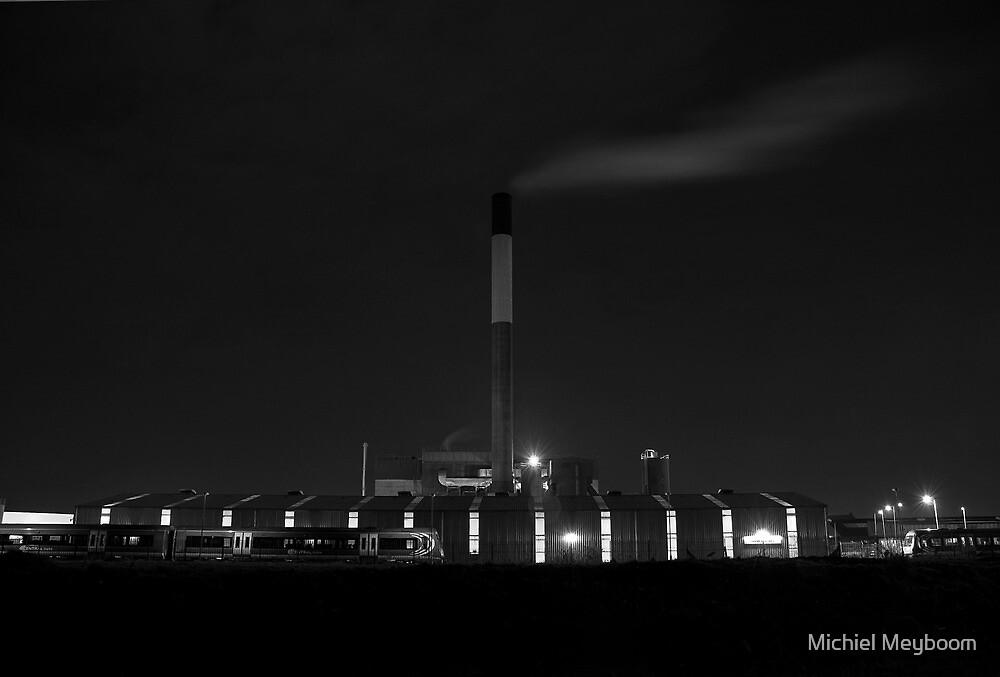 Midnight Factory Smoke by Michiel Meyboom
