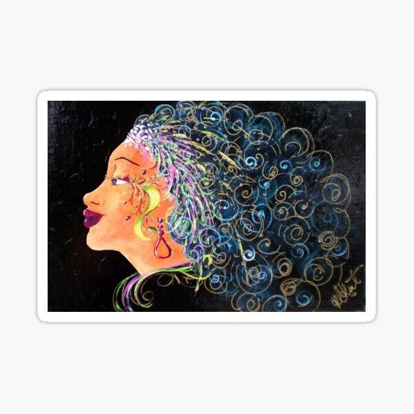 Lady Rio Sticker