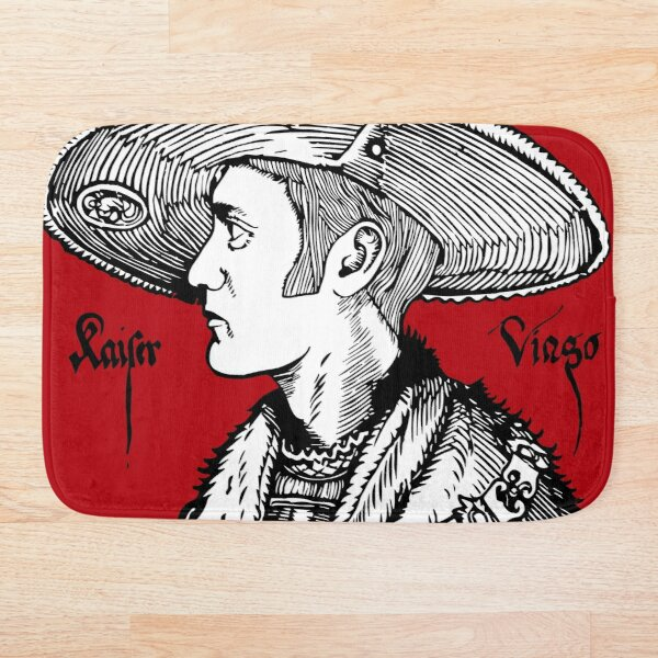 Viago old drawing Bath Mat