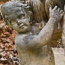 Statue Detail----- St Anton Gardens by Edwin  Catania