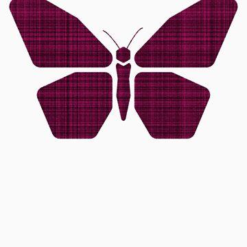 Geometric Butterfly by Tau23