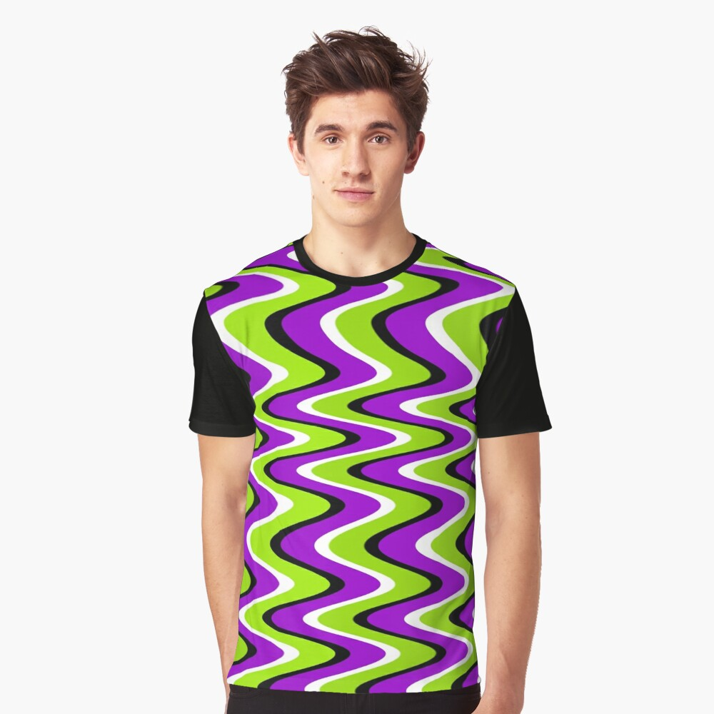 Seenmewaves Graphic T-Shirt Front