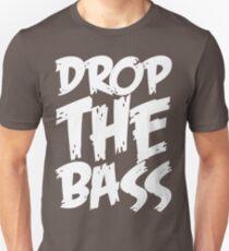 Drop The Bass (White) T-Shirt