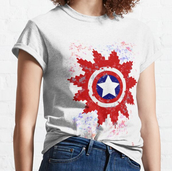Red white Blue Tribe  Classic T-Shirt