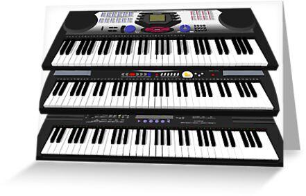 Modern Synthesizers / Keyboards by bradyarnold