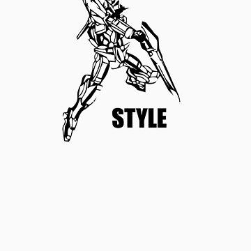 Gundam Style by Morrocandesigns