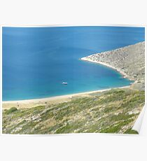 Santorini ocean: Greek Islands heaven 1 Poster