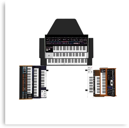 Vintage Synthesizers / Keyboards by bradyarnold