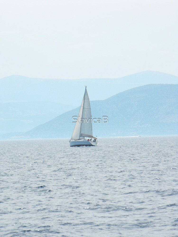 Sailing in Greece by SlavicaB