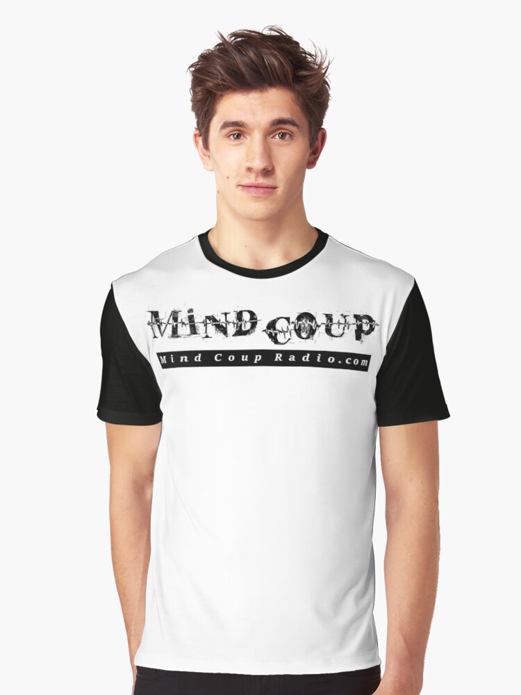 Mind Coup logo1 Graphic T-Shirt Front