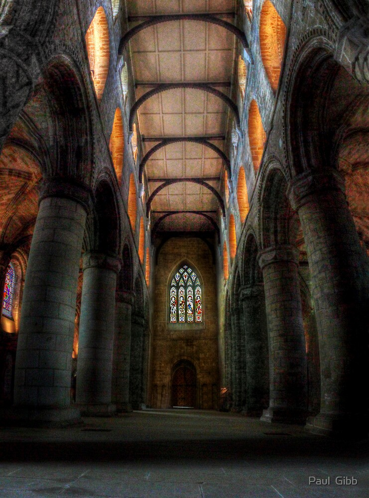 Dunfermline Abbey Interior by Paul  Gibb