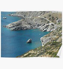 Greece: Amorgos Island 1 Poster