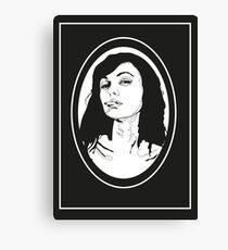 Smoking Canvas Print