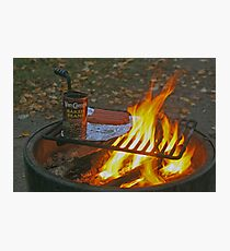 Vancamp Beans & Weiners On The Open Firer Photographic Print