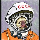 Cosmonaut Sloth by sneercampaign