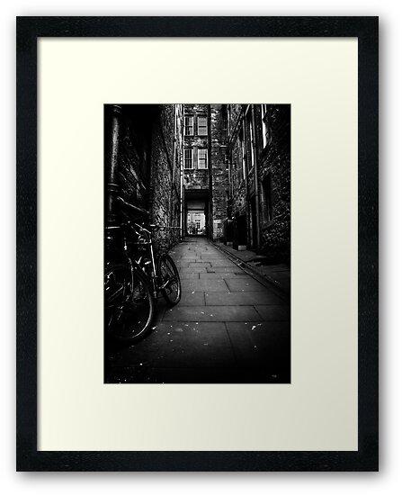 Old Town Edinburgh by Paul  Gibb