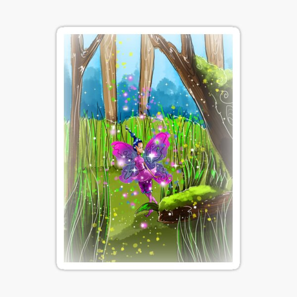 Neona the Natural Materials Fairy™ Sticker