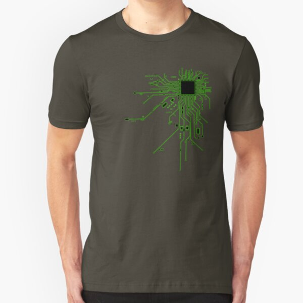CPU Heart 2 Slim Fit T-Shirt
