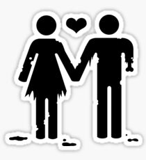 Love You To Death ♂♀ Sticker