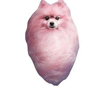 Cotton Candy Dog de charlo19