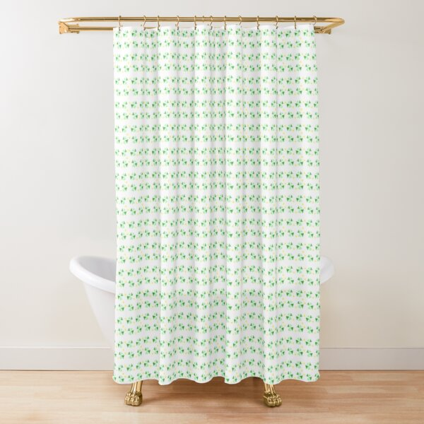 Mostly green patterns #01 Shower Curtain