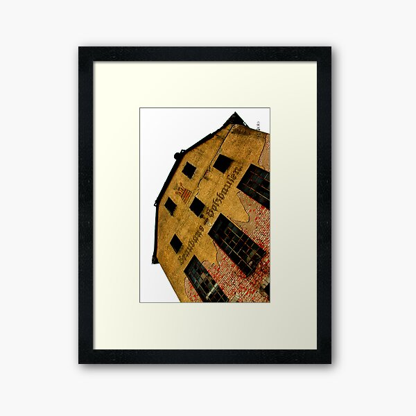 Abandoned German History Framed Art Print