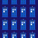 Tardis Pattern by Brian Rex