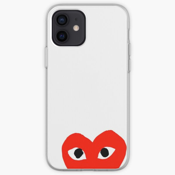 CDG hype logo iPhone Soft Case