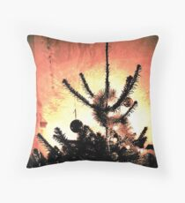A Christmas card for Tim Burton? Throw Pillow