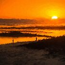 South Beach Sunset (RVR) by Ray Warren