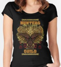 Hunters Guild - Rajang Women's Fitted Scoop T-Shirt