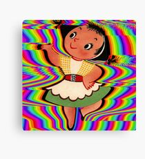 Dancing In Colours Canvas Print