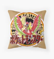 Pokemon Returns: Gold Throw Pillow