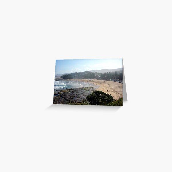Austinmer Beach Greeting Card